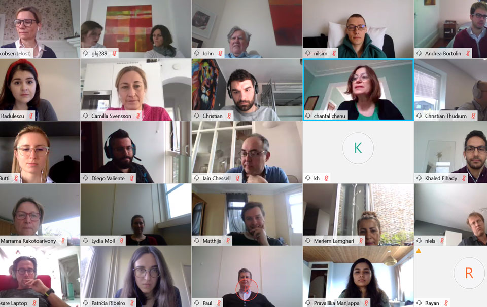 Virtual Mid-Term Check and First Annual Meeting